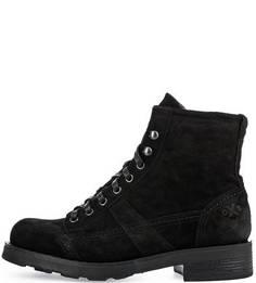 Черные замшевые ботинки O.X.S.
