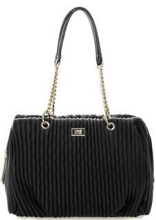 Черная сумка с длинными ручками Cavalli Class