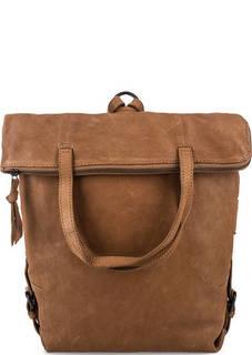 Кожаная сумка-рюкзак с длинными ручками Aunts & Uncles