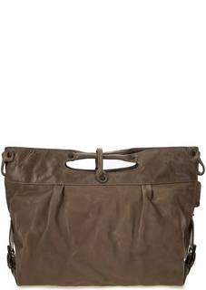 Кожаная сумка со съемным плечевым ремнем Aunts & Uncles