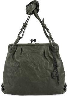 Кожаная сумка с рамочным замком Aunts & Uncles