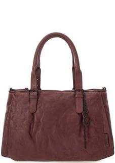 Вместительная сумка из натуральной кожи Aunts & Uncles