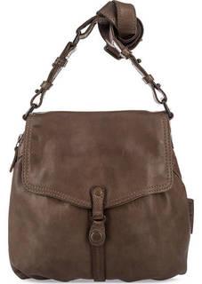 Кожаная сумка через плечо с одним отделом Aunts & Uncles