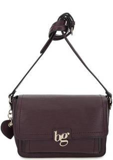 Бордовая сумка с откидным клапаном Blugirl