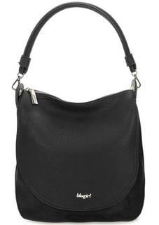Черная сумка с длинной ручкой Blugirl