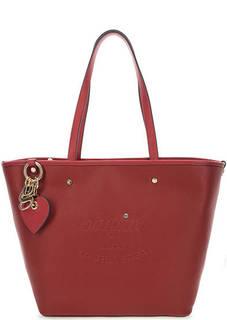 Красная сумка с длинными ручками Blugirl