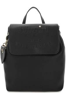 Черный рюкзак с откидным клапаном Blugirl