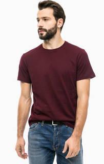 Однотонная футболка из хлопка S.Oliver
