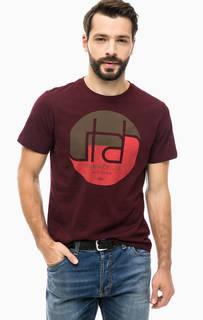 Хлопковая футболка с принтом S.Oliver