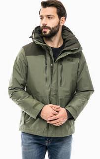 Демисезонная куртка со скрытым капюшоном Jack Wolfskin