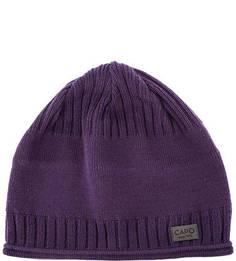 Фиолетовая шапка из хлопка Capo