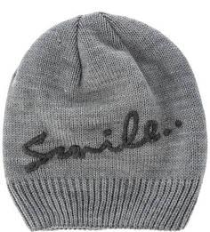 Серая шапка с вышивкой Capo