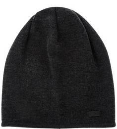 Шерстяная шапка темно-серого цвета Capo
