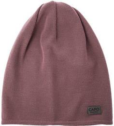 Сиреневая шерстяная шапка Capo
