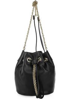 Маленькая кожаная сумка-торба Gianni Chiarini