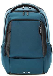 Синий рюкзак с широкими лямками Samsonite