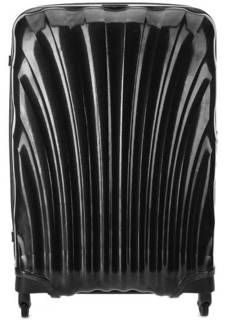 Большой серый чемодан на колесах Samsonite