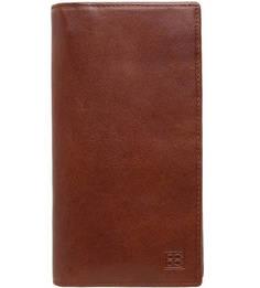 Портмоне из натуральной кожи коричневого цвета Sergio Belotti
