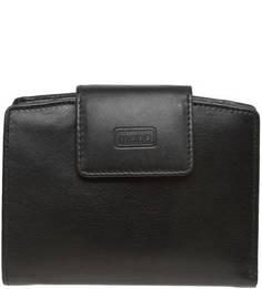 Кожаный кошелек с застежкой на кнопку Mano