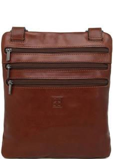 Маленькая кожаная сумка через плечо Sergio Belotti
