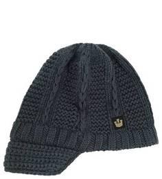 Серая вязаная шапка из акрила Goorin Bros.