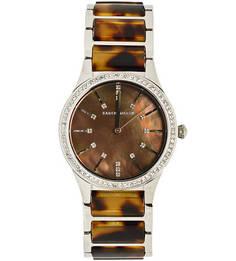 Часы с браслетом из металла и керамики Karen Millen
