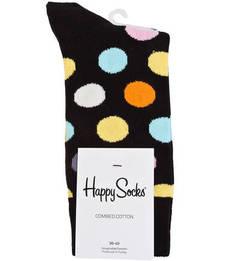 Носки из хлопка в горошек Happy Socks