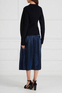Блестящая плиссированная юбка Hugo Boss