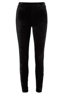 Бархатные черные брюки Theory