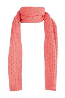 Кашемировый шарф розовый Bonpoint