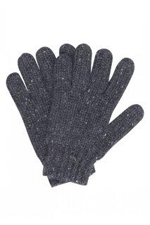 Кашемировые перчатки серые Bonpoint