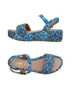 Сандалии Coral Blue