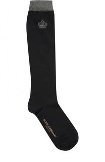 Носки с логотипом бренда Dolce & Gabbana
