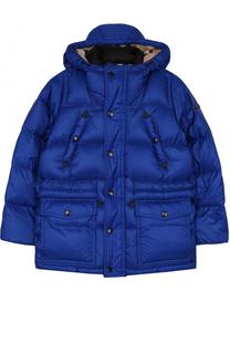 Пуховая куртка с капюшоном Burberry