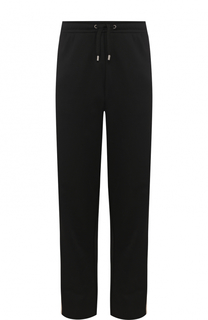 Хлопковые брюки свободного кроя с поясом на кулиске Gucci