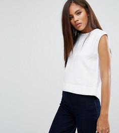 Укороченный джинсовый топ Waven Tall Tini - Белый