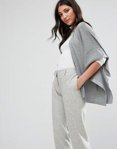 Кардиган с рукавами-кимоно Lavand - Серый