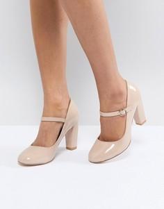 Туфли на высоком блочном каблуке Miss KG - Черный