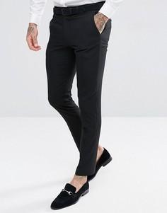 Черные брюки скинни под смокинг Harry Brown - Черный