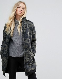 Длинная куртка с принтом b.Young - Мульти