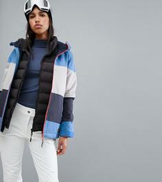 Горнолыжная куртка в полоску ONeill - Синий O`Neill