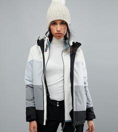 Горнолыжная куртка в полоску ONeill - Белый O`Neill