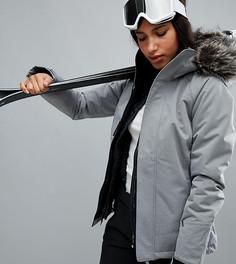 Горнолыжная куртка с искусственным мехом на капюшоне ONeill - Синий O`Neill