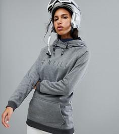 Флисовый топ с капюшоном под горнолыжную куртку ONeill - Серый O`Neill