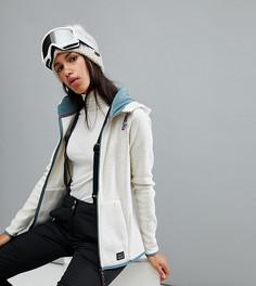 Флисовый топ с капюшоном под горнолыжную куртку ONeill - Кремовый O`Neill
