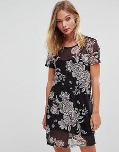 Платье с цветочными мотивами Minkpink - Мульти
