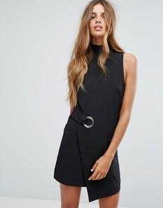Платье с запахом Minkpink - Черный