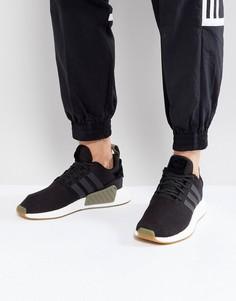 Черные кроссовки adidas Originals NMD R2 BY9917 - Черный