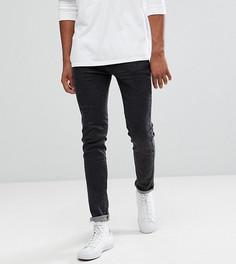 Выбеленные черные джинсы скинни Bellfield TALL - Черный