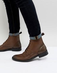 Коричневые ботинки со шнуровкой Dead Vintage - Коричневый